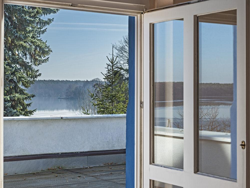 Blick auf den Zeuthener See