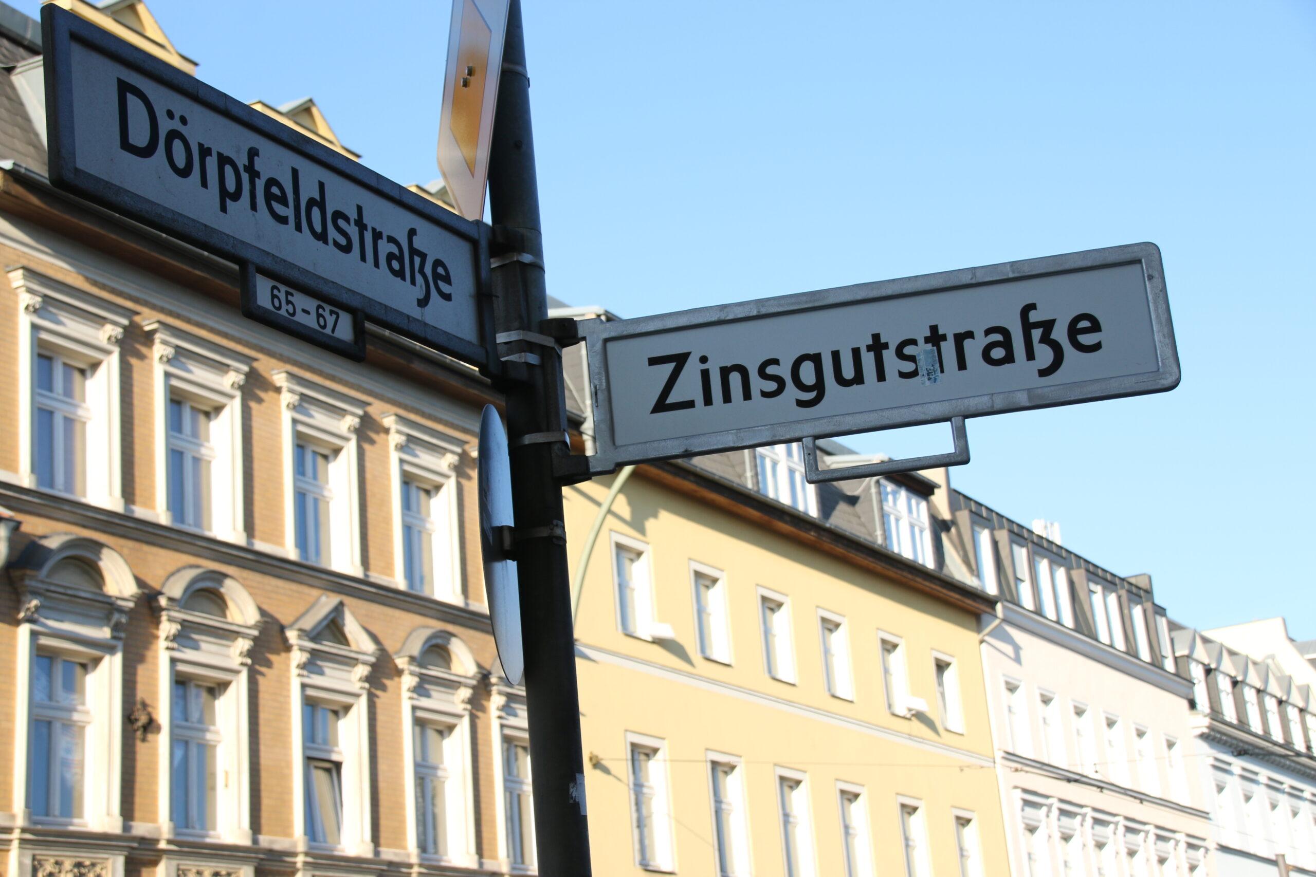 Dörpfeldstraße eine gute Ecke zum Wohnen
